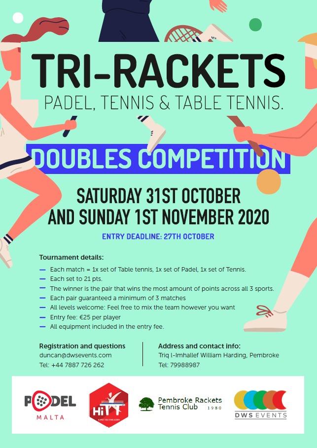 Tri-Rackets Malta